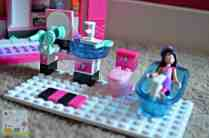 Mega Bloks Barbie Build N Play Fab Mansion - Bathroom