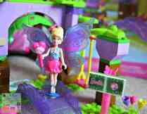 Mega Bloks Barbie Build N Play Fairy Treehouse - Welcome bridge