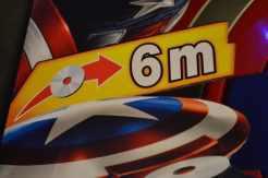 Captain America Avengers Attack Shield - 6m firing range