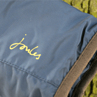 Joules - French Navy Jnr, Thorpe Girls' Padded Jacket -Sleeve detail