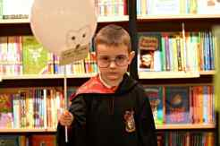 Waterstones Harry Potter Night - Tigger All Finished