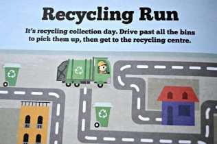 Busy Busy Things That Go - Recycling Run