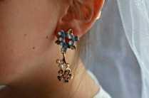 Disney Cinderella wedding accessories set - Earrings