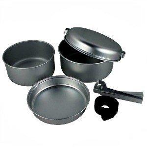 Wilko Aluminium Cook Set 5 Piece
