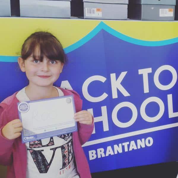 Brantano #walktoschool pledge - Roo