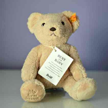 My First Steiff 24cm Plush Teddy Bear