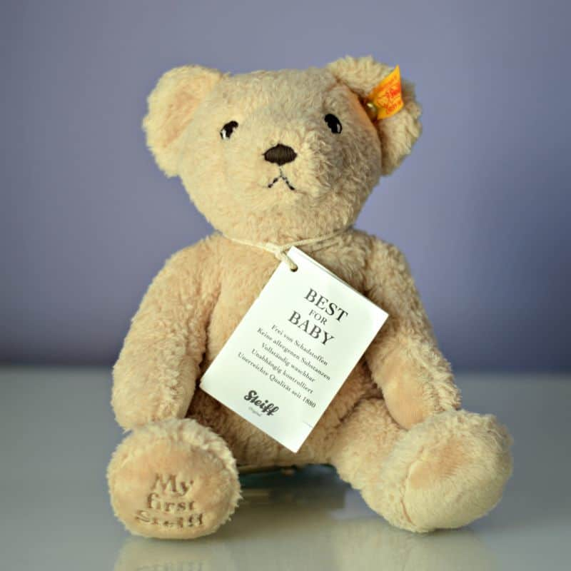 My First Steiff 24cm Plush Teddy Bear