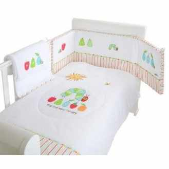 3 Piece Very Hungry Caterpillar Bedding Set
