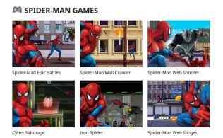 Spiderman Games