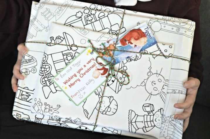 Miles Kelly #GiveTheGiftOf - Tigger book parcel