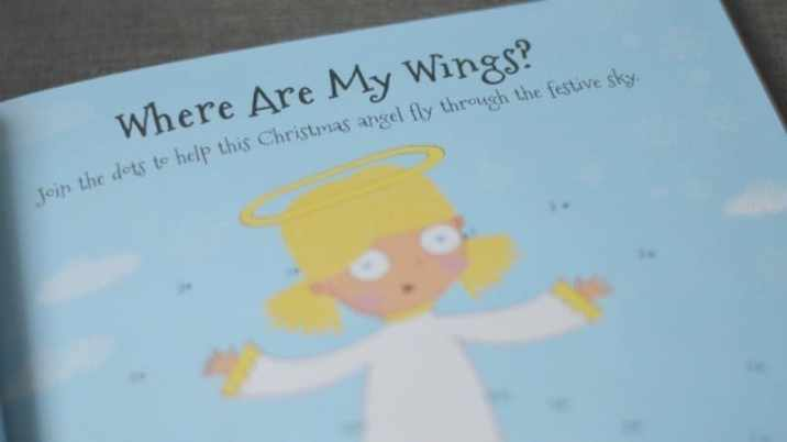 4000 Christmas Stickers - Where are my wings