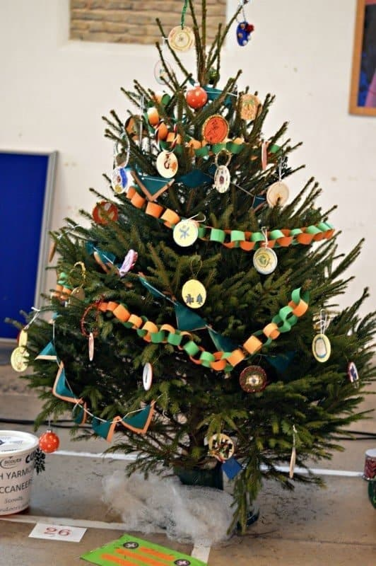 North Yarmouth Buccaneers Christmas Tree