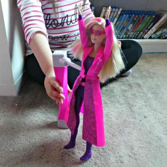 Barbie Spy Squad Secret Agent Doll - Backflip