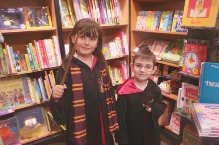 Harry Potter Book Night 2016 - Hogwarts Robes