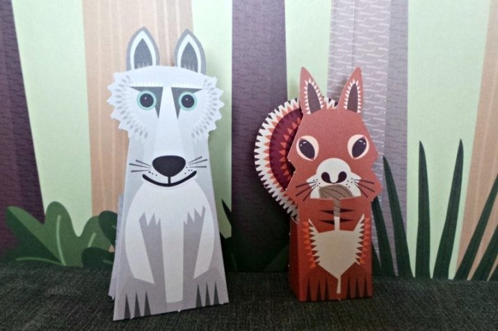 Mibo The Forest Folk - Fox and Squirrel