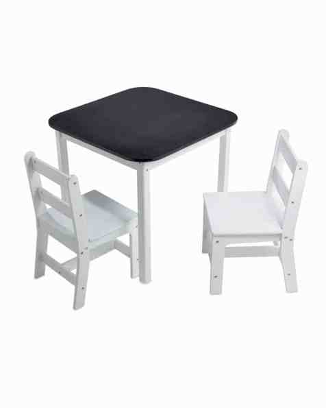 Blackboard Table and Chairs