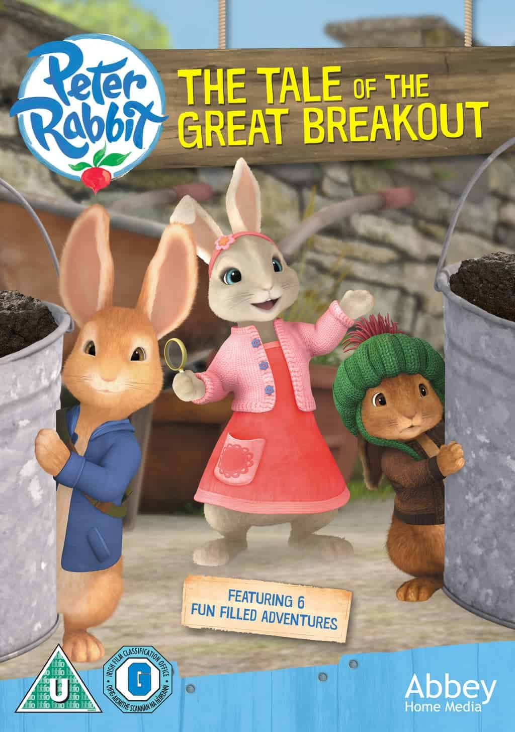 Peter Rabbit The Tale Of The Great Breakout DVD Boo Roo