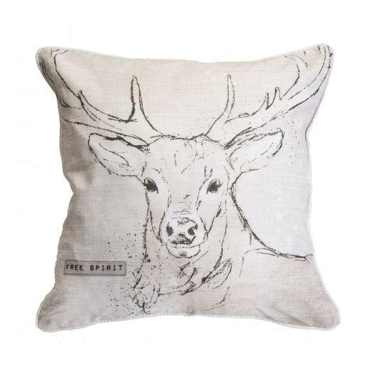 Free Spirit Stag Cushion