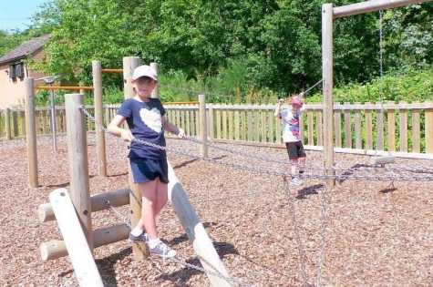 Taverham Mill - Roo and Tigger Climbing Frame