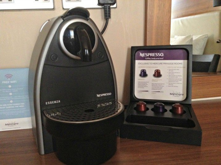 Mercure Hotels London Bloomsbury - Coffee Machine