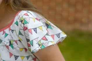 Rockin' Baby Ivy Bunting Print Blouse - Sleeves
