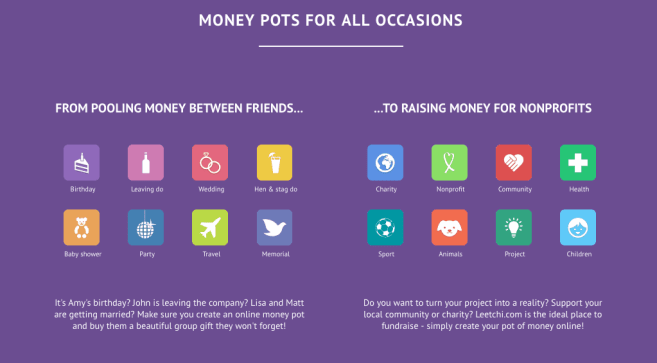 Leetchi.com launches a fantastic new service assisting people collect funds in the UK