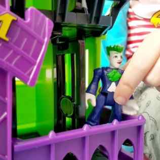 Imaginext DC Super Friends Arkham Asylum - Jail cells