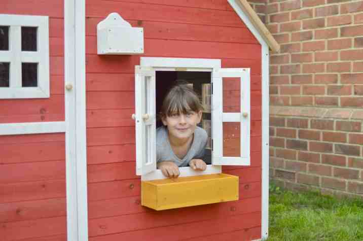 Crooked Mansion Wooden Playhouse - Roo