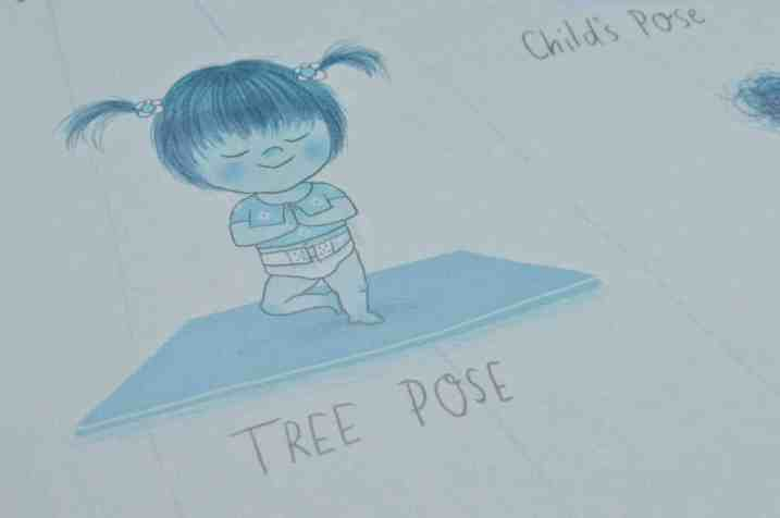 Yoga Babies - Tree Pose
