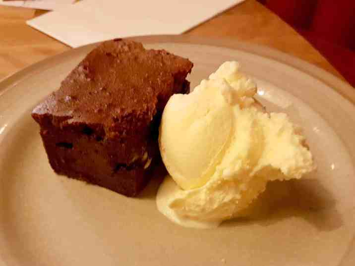 Middletons Steakhouse & Grill - Desert Chocolate Brownie