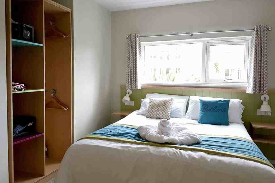 Butlins Minehead Lakeside Chalet - Downstairs Double Bedroom