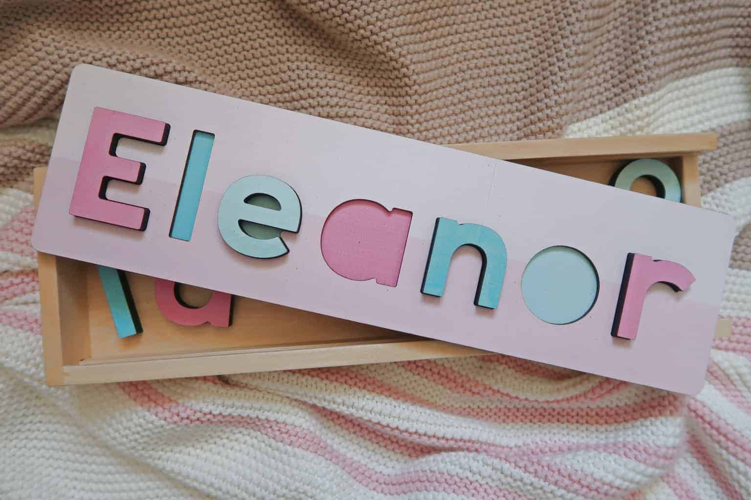 tinyme personalised name puzzle