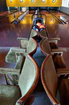 The Bowling House - Cinema seating