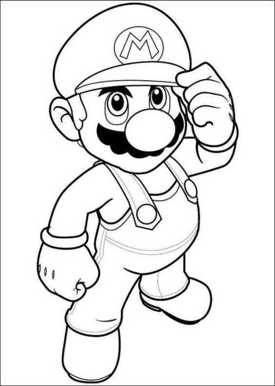 Disegni Da Colorare Di Super Mario
