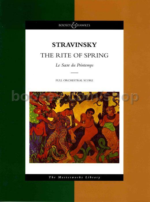 Igor Stravinsky  Rite Of Spring