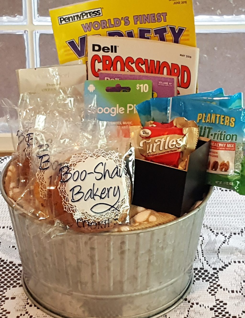 the get well soon man bucket personalized gourmet gifts