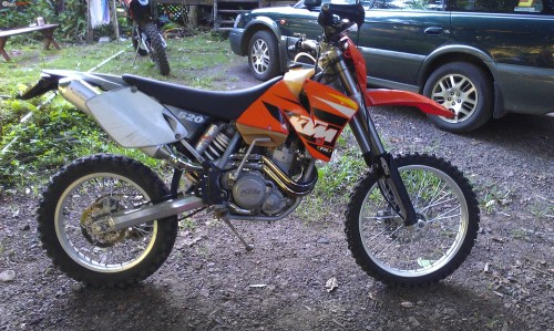 small resolution of 2001 ktm 520exc