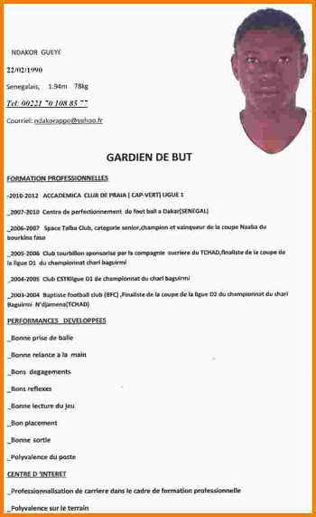 exemple lettres cv