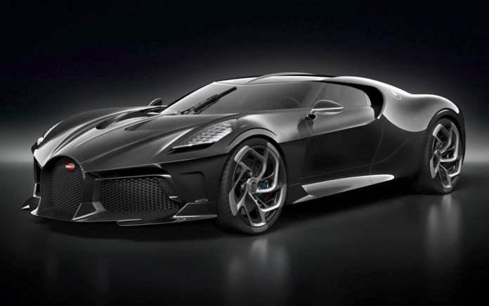 Verdens dyreste bil - BUGATTI LA VOITURE NOIRE
