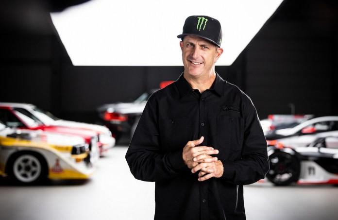 Den amerikanske rallykører Ken Block skal hjælpe Audi med at udvikle elbiler.