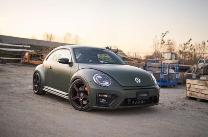 FTX700 Beetle er en meget grønt og virkelig hidsig Volkswagen med firehjulstræk og 700 hestekræfter