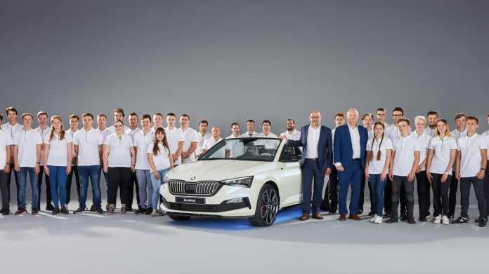 Skoda gør klar til at et hold praktikanter for ottende gang skal bygge deres egen drømmebil
