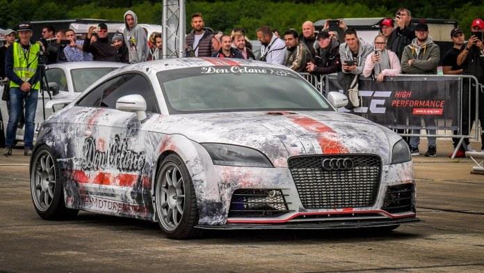 Don Octane har efterhånden bygget på sin absolut vanvittige Audi TT i to år, og bilen bliver kun hurtigere og hurtigere