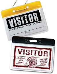 Horizontal ID Badge Holder  Boosters Inc