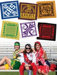 Spirit Scarf - Customize one for your team today! 12 ...