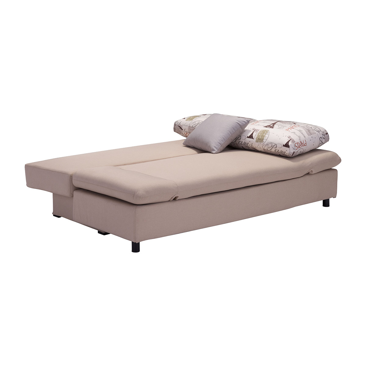 beige sleeper sofa bluebell chaise zuo serenity in boost home