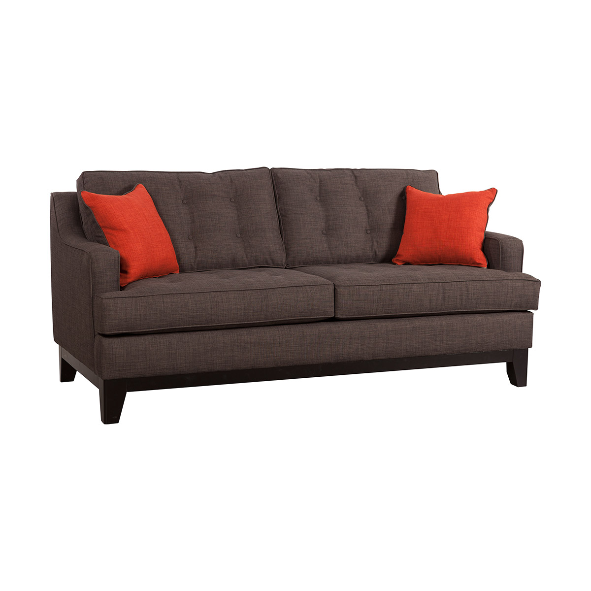 burnt orange sofa and loveseat cream colored sofas zuo chicago in charcoal boost home