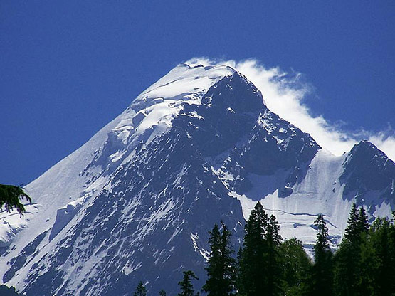 Falaksair Peak Swat Valley, Pakistan
