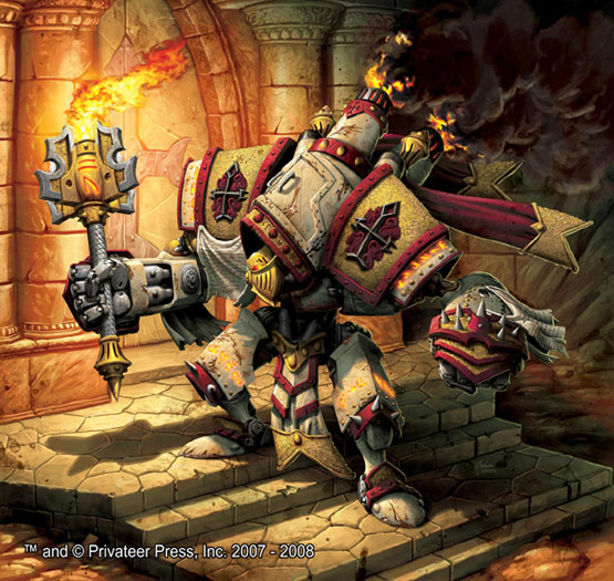30 Incredible Warmachine Digital Paintings for Privateer Press