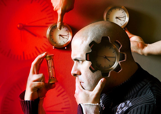 While Time Left, Bizarre Photo Manipulation of Self Portrait